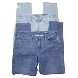 || J. JILL || TWO 4 Petite Slim Ankle Jeans